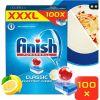 Tablety do myčky FINISH Classic Lemon 100 ks (5997321733616) + ZDARMA Sada SPONTEX smetáčková souprava