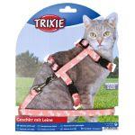 Porovnání ceny Trixie Postroj pro kočku motiv LEBKA 27-46 cm/10 mm/1,20 m