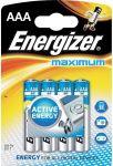 Porovnat ceny ENERGIZER Alkalické tužkové batérie Maximum LR03 / 4 4xAAA 35035754