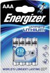 Porovnat ceny ENERGIZER Alkalické tužkové batérie Ultimate Lithium FR03 / 4 4xAAA 35035751