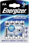 Porovnat ceny ENERGIZER Alkalické tužkové batérie Ultimate Lithium FR6 / 4 4xAA 35035752