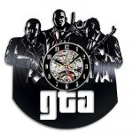 Porovnání ceny Grand Theft Auto GTA - nástěnné hodiny vinyl