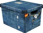 Porovnat ceny CURVER box úložný dekoratívny L JAENS, 39,5 x 29,5 x 24 cm, 04711-J18