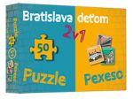 Porovnat ceny Kolektív autorov Bratislava deťom-Pexeso a Puzzle
