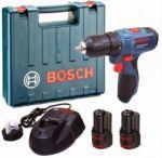 Porovnání ceny Bosch GSR 1080-2-Li VRTACÍ ŠROUBOVÁK (2x1,5Ah, kufr)