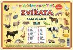 Porovnat ceny Kupka Petr a kolektiv Domácí a hospodářská zvířata - Sada 24 karet