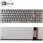 Porovnání ceny Asus N76VM-V2G-T5013V klávesnice