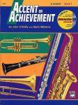 Porovnání ceny Accent On Achievement: B Flat Trumpet Book 1 (noty na trubku) (+CD)