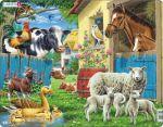 Porovnat ceny neuveden Puzzle MAXI - Zvířata na farmě/25 dílků