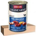 Porovnání ceny Animonda GRANCARNO Adult 400g konzerva úhoř+brambor pes