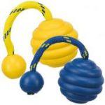Porovnání ceny Trixie SPORTING tvrdý vlnitý míč na laně, přírodní guma 7 cm/22 cm