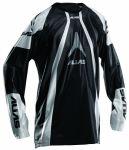 Porovnání ceny Motokrosový dres ALIAS MX A1 černý/stříbrný L