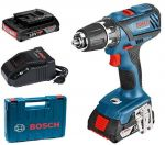 Porovnání ceny BOSCH GSR 18-2-LI Plus Professional aku vrtačka 2x4Ah Li-Ion L-BOXX 0.601.9E6.121