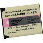 Porovnání ceny Powery baterie 1.70.CAS.999.14 pro Casio Typ NP-80 3,7V 700mAh - neoriginální