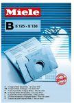 Porovnat ceny MIELE B Originálne vrecká Miele typ B 01122199