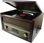 Porovnání ceny Soundmaster NR515 radio s gramofonem / USB/ FM/ DAB+ / retro design