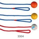 Porovnání ceny Trixie Vrhací míč z tvrdé gumy na šňůře 5 cm/1 m