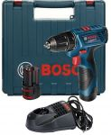 Porovnání ceny BOSCH GSR 120-LI Akumulátorový vrtací šroubovák 0.601.9F7.001