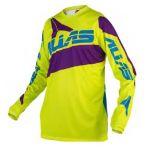 Porovnání ceny Motokrosový dres ALIAS MX A2 neon yellow/purple 2160-372 XL