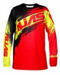 Porovnání ceny Motokrosový dres ALIAS MX A2 BRUSHED červeno/černý 2166-296 L