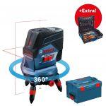 Porovnat ceny BOSCH GCL 2-50 C krížový laser + RM3 otočný držiak + L-BOXX 0.615.994.0KG