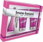 Porovnání ceny Bruno Banani Made for Woman, Dárková sada, toaletní voda 20ml + sprchový gel 50ml + tělové mléko 50ml, Dámska vôňa, + AKCE: dárek zdarma