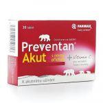 Porovnání ceny Farmax Preventan Akut s novou příchutí 30 tablet