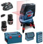 Porovnat ceny BOSCH GCL 2-50 C krížový laser + RM3 + 2 x GBA 12V 2,0Ah + USB adaptér 0.615.994.0K7