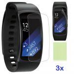 Porovnání ceny Ochranná fólie na displej ClearGuard pro Samsung Gear Fit 2 / Fit 2 Pro (3ks)