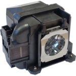 Porovnat ceny Lampa pro projektor EPSON PowerLite Home Cinema 640, kompatibilní lampový modul, partno: ELPLP88