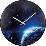 Porovnání ceny Designové nástěnné luminiscenční hodiny Nextime 3176 Globe 35cm