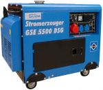 Porovnat ceny GÜDE GSE 5500 DSG Elektrocentrála naftová generátor 40586