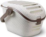 Porovnat ceny CURVER Prepravný box pre domácich miláčikov Rattan Vintage mocha, 00616-P16