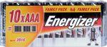 Porovnat ceny ENERGIZER Alkalické tužkové batérie FP LR03/10 10xAAA 35032934
