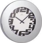 Porovnání ceny JVD Kovové nástěnné hodiny H91