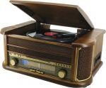 Porovnání ceny Soundmaster NR513A radio s gramofonem / USB/ CD-RW/ MP3/ retro design