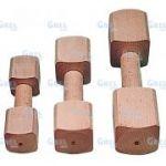 Porovnání ceny Truhlářství Zimny Hračka pro psa činka dřevěná 400 g 22 x 6,2 x 6,2 cm