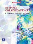Porovnání ceny Business Correspondence - Lougheed, Lin