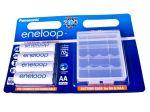 Porovnat ceny Nabíjecí baterie AA Panasonic Eneloop 1900mAh Ni-MH 4ks Blistr+ CASE
