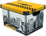 Porovnat ceny CURVER box úložný dekoratívny L NEW YORK, 25 x 39,5 x 29,5 cm, 04711-D16