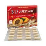 Porovnat ceny Terezia Company B17 APRICARC s marhuľovým olejom 50 kapsúl + 10 kapsúl ZADARMO