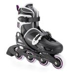 Porovnat ceny kolieskové korčule Xootz In-Line Skate Coaster - Black/Purple 31-33