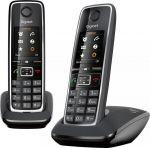 Porovnání ceny SIEMENS GIGASET C530 DUO - DECT/GAP bezdrátový telefon, barva černá