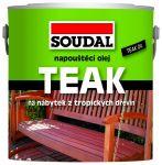 Porovnat ceny SOUDAL napúšťací olej na drevo 0,5 l teak