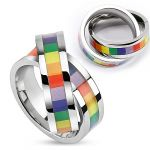Porovnání ceny přívěsek Body Art SSPM-6055 - Double Linked Ring Stainless Steel 22 mm