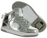 Porovnat ceny topánky s kolieskami Heelys Flash Chrome - Silver 39