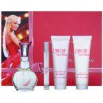 Porovnání ceny Paris Hilton Can Can dárková sada II. parfémovaná voda 100 ml + parfémovaná voda 10 ml + sprchový gel 90 ml + tělové mléko 90 ml
