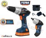 Porovnání ceny FERM aku set 2v1 vrtačka FDCD-1800N +šroubovák FDCS-360LK (CDM1106)