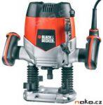 Porovnání ceny BLACK&DECKER KW900EKA vrchní frézka 1200W