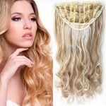 Porovnat ceny Clip in pás - JESSICA 60 cm vlnitý - 27/613 - mix blond (F27/613 (melír karamelovej v beach blond)) - Světové Zboží
